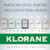 Sorteo para blogs de KLORANE