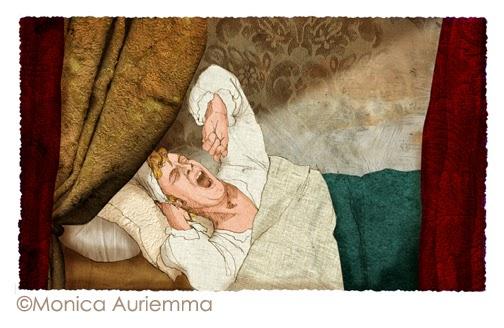 """Illustrazione. Parini. Monica Auriemma.""""Leggo perchè..."""" Mondadori Education"""