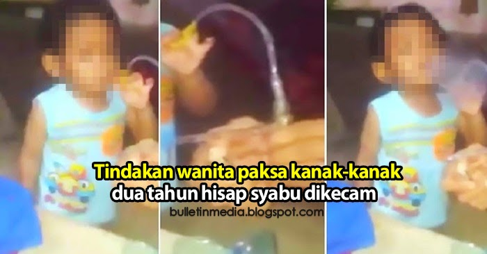 Tindakan wanita paksa kanak-kanak dua tahun hisap syabu dikecam