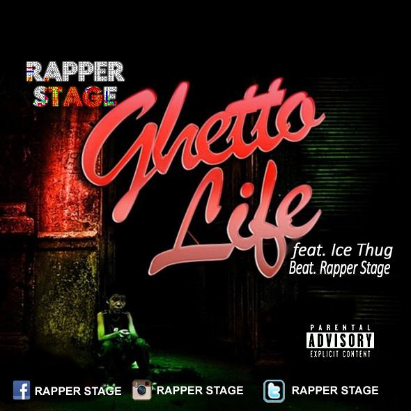 Rapper Stage lança novo tema ¨Guetto Life¨