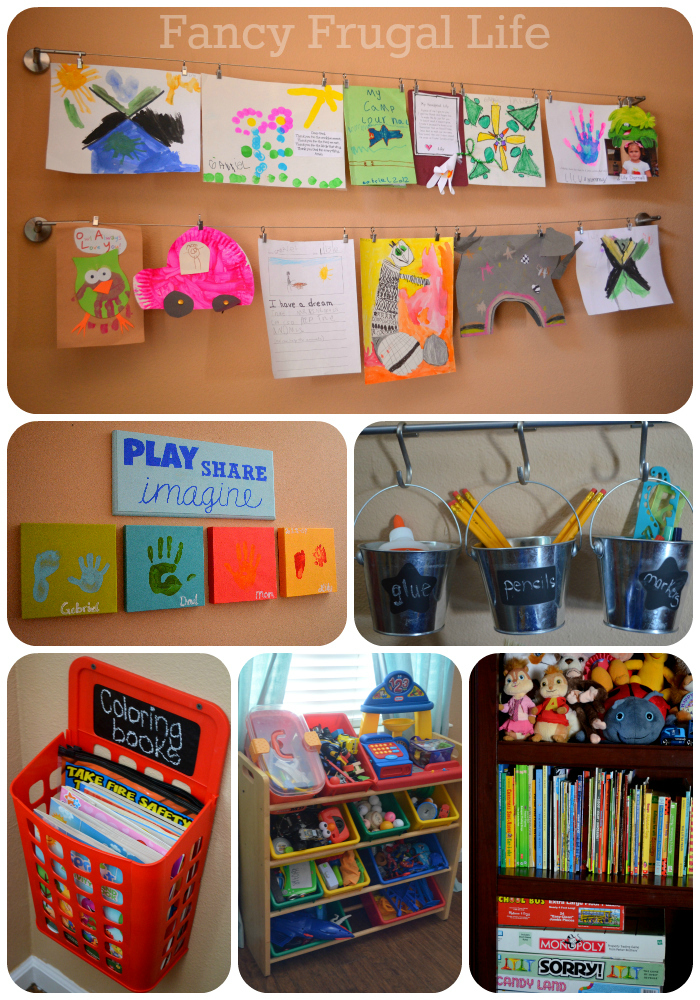 Coloring Book Organizer : Our new playroom tour organizing the kid clutter