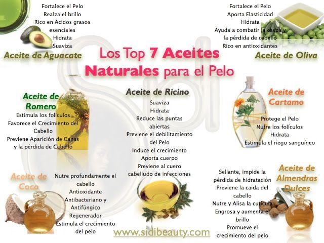 ACEITES PARA EL CABELLO - BENEFICIOS