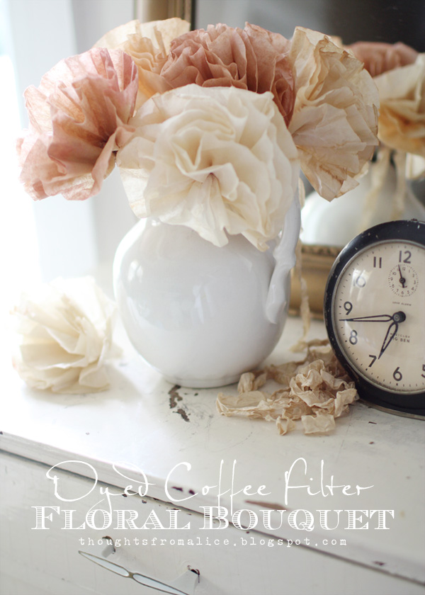 Coffee Filter Floral Bouquet