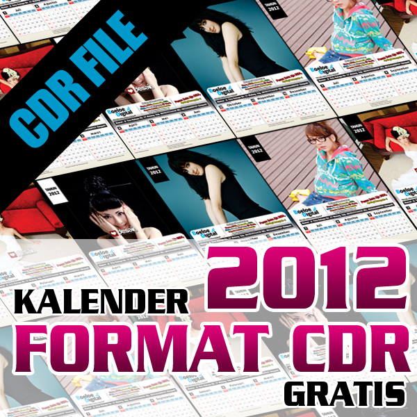 Category: CorelDRAW , Download , Download CDR , Kalender