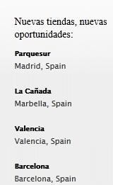 tiendas apple en España