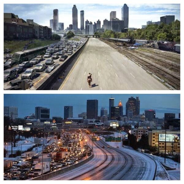 snowmageddon walking dead