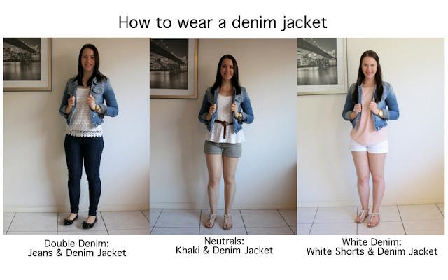 How to wear a denim jacket, ways to wear a denim jacket, denim jacket inspiration, denim jacket outfits, neutrals and denim jacket, white denim and denim jacket, denim on denim