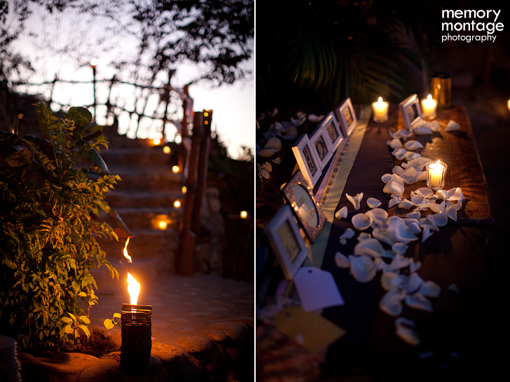 Las Caletas wedding reception Puerto Vallarta Mexico Destination wedding photo beach