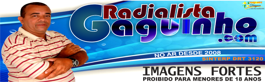 RADIALISTA GAGUINHO PROFISSIONAL DESDE 1992 DRT.3120.  