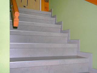 Betontreppe renovieren - Treppenprofil-System Silber