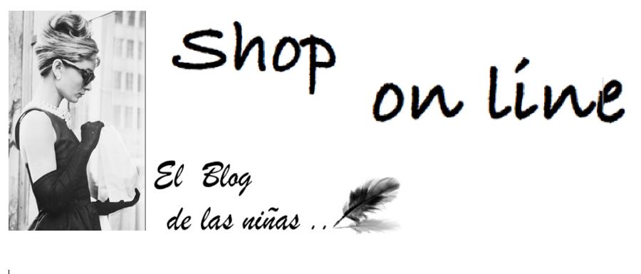 Shop on line del Blog de las niñas