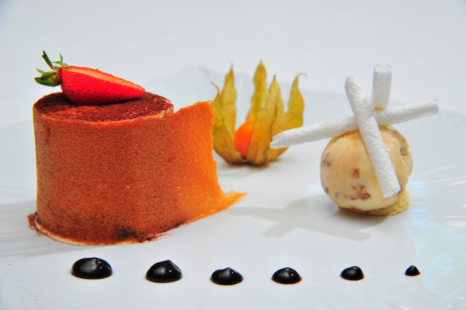 La influencia de la presentaci n en la comida for Platos de alta cocina
