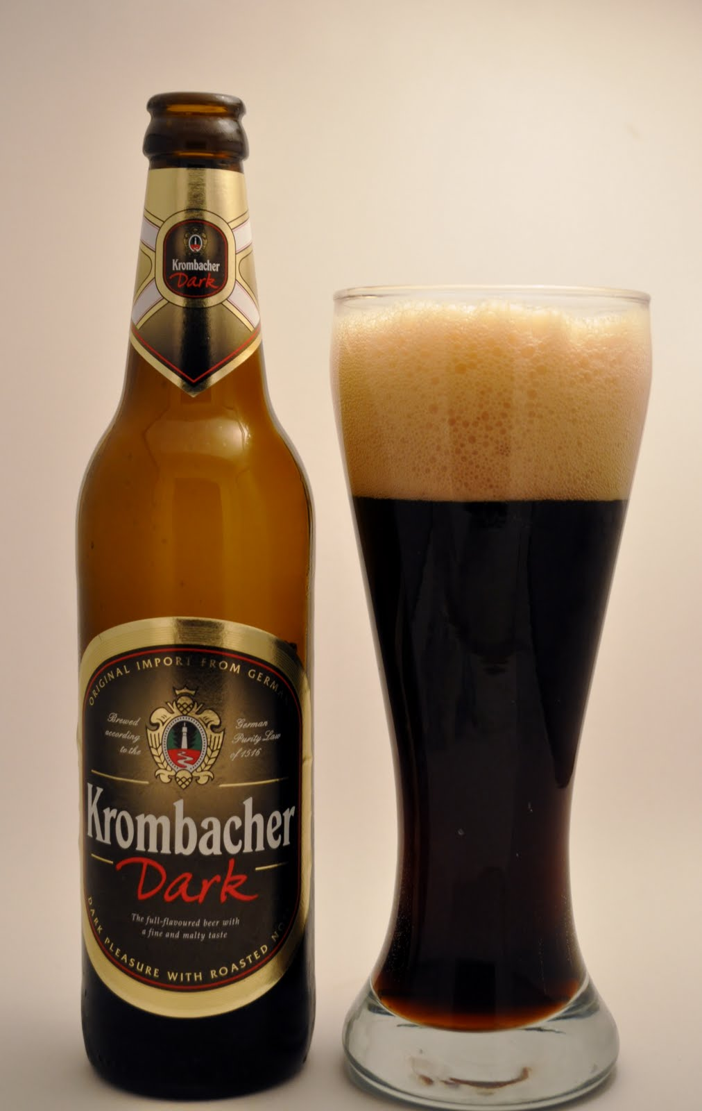Blood, Stout and Tears.: Kaiserdom & Krombacher Dark lager