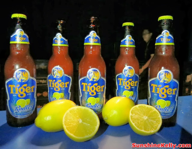 Tiger Radler, Double Refreshment, tiger beer malaysia, tiger beer, party, kl live, drinks, lemon