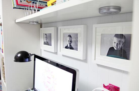 Iheart organizing a little desk refresh - Organized work desk ...