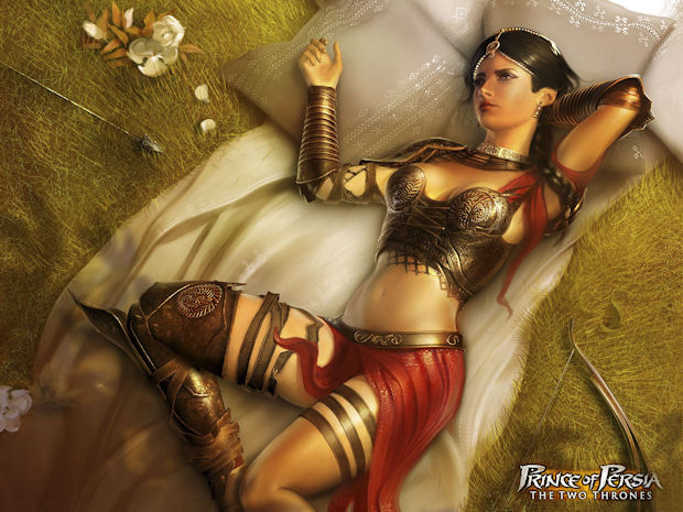 Prince of Persia harem costume
