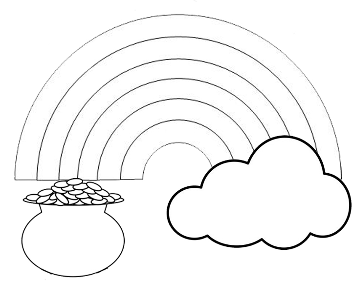 Galerry fruit rainbow coloring page