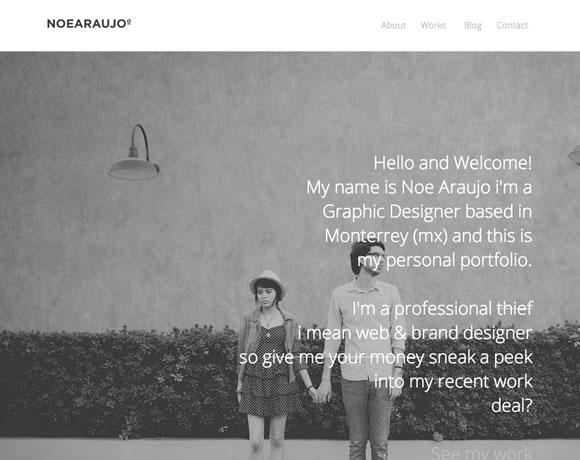 Noe Araujo big image website