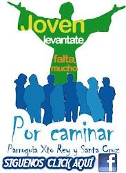 Sigue a La Pastoral Juvenil de Nuestra Parroquia Cristo Rey - Santa Cruz