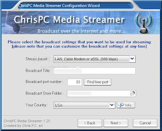ChrisPC Media Streamer 1.45