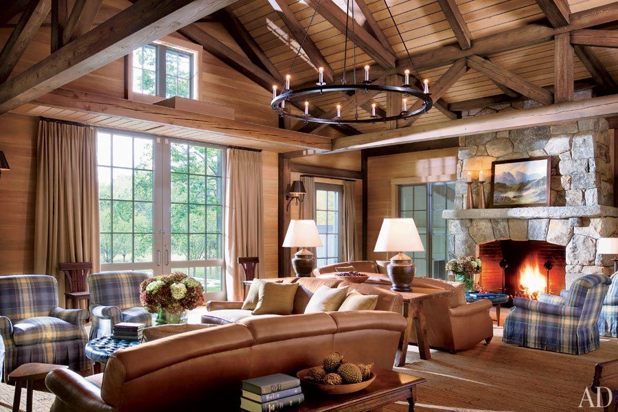 New home interior design barn style houses for Modern barn home interiors