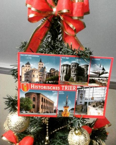 Viajante Secreto 2015 - postal de Trier, Alemanha