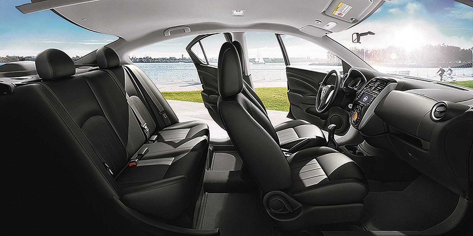 novo Nissan Versa 2015 - interior