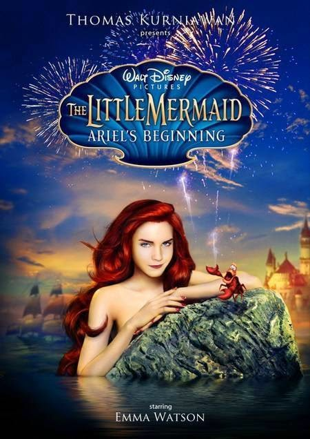 Little mermaid - emma watson