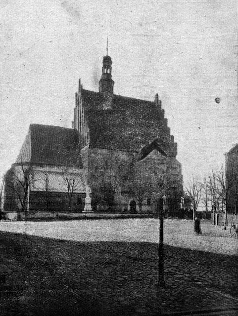 Szydłowiec, kościół parafialny.