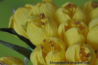 blumenfabrik, kwiaty z bibuły
