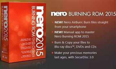 Nero Burning ROM 2015 v16.0.01600 Portable Multilanguage
