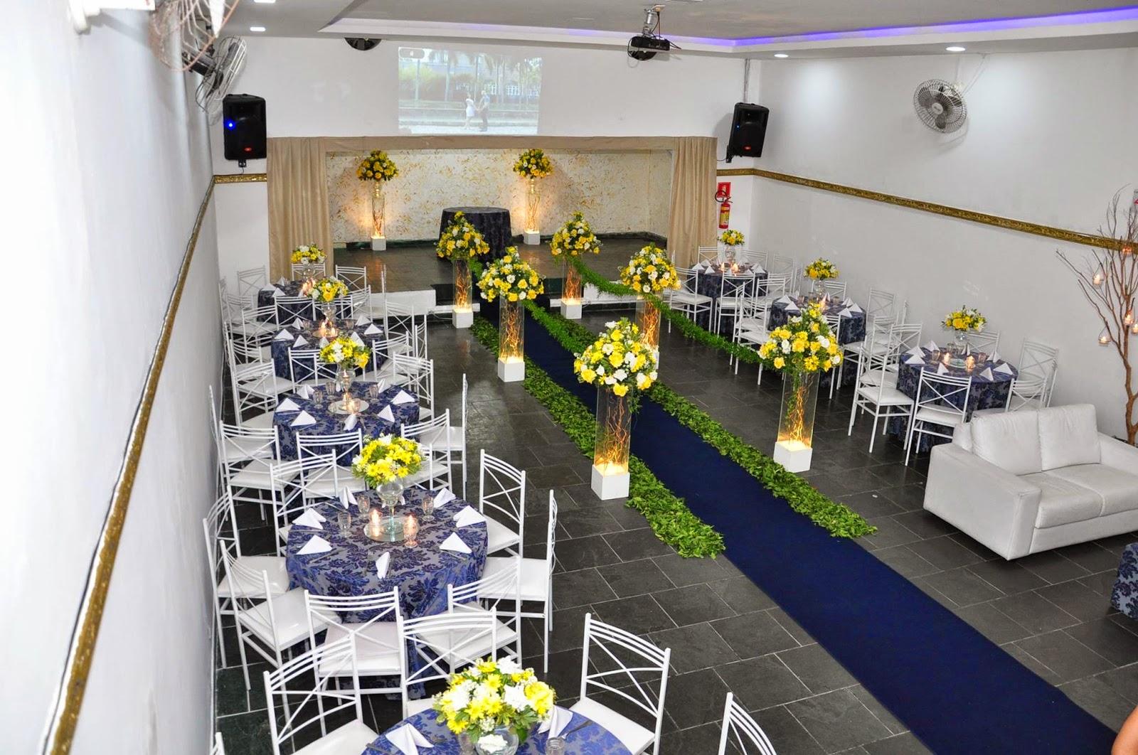 decoracao de festa azul marinho e amarelo:buffet bolando festas: Casamento decoração azul marinho e amarelo 23