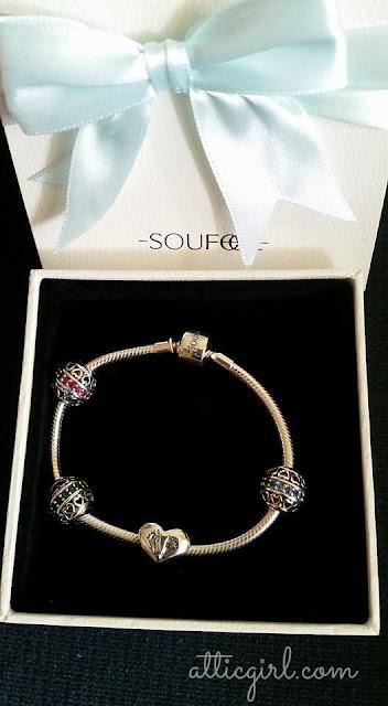 Soufeel Sterling Silver Charm Bracelet