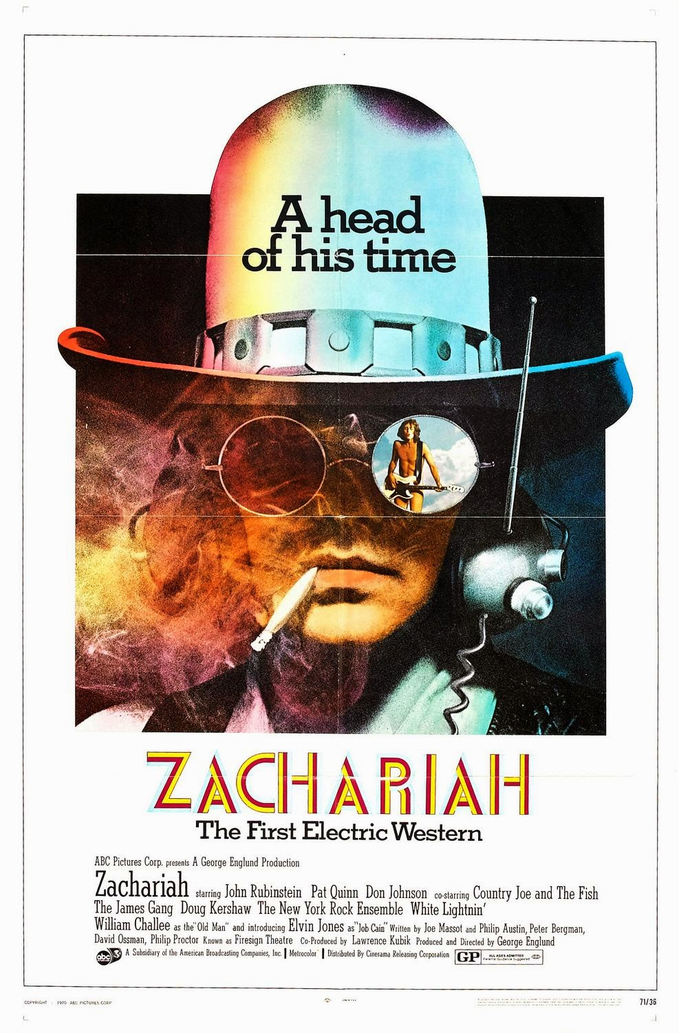 Zachariah Movie Poster Zachariah Poster