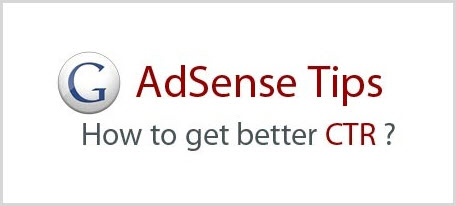 Improve Adsense CTR