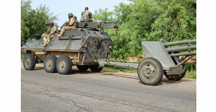 Nigerian military forces push Boko Haram out of Bama