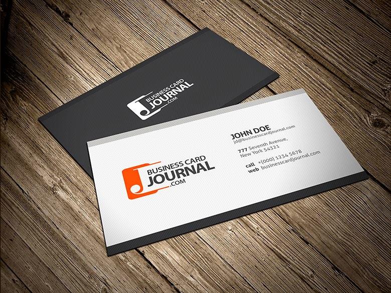 Modern Corporate Business Card PSD Template