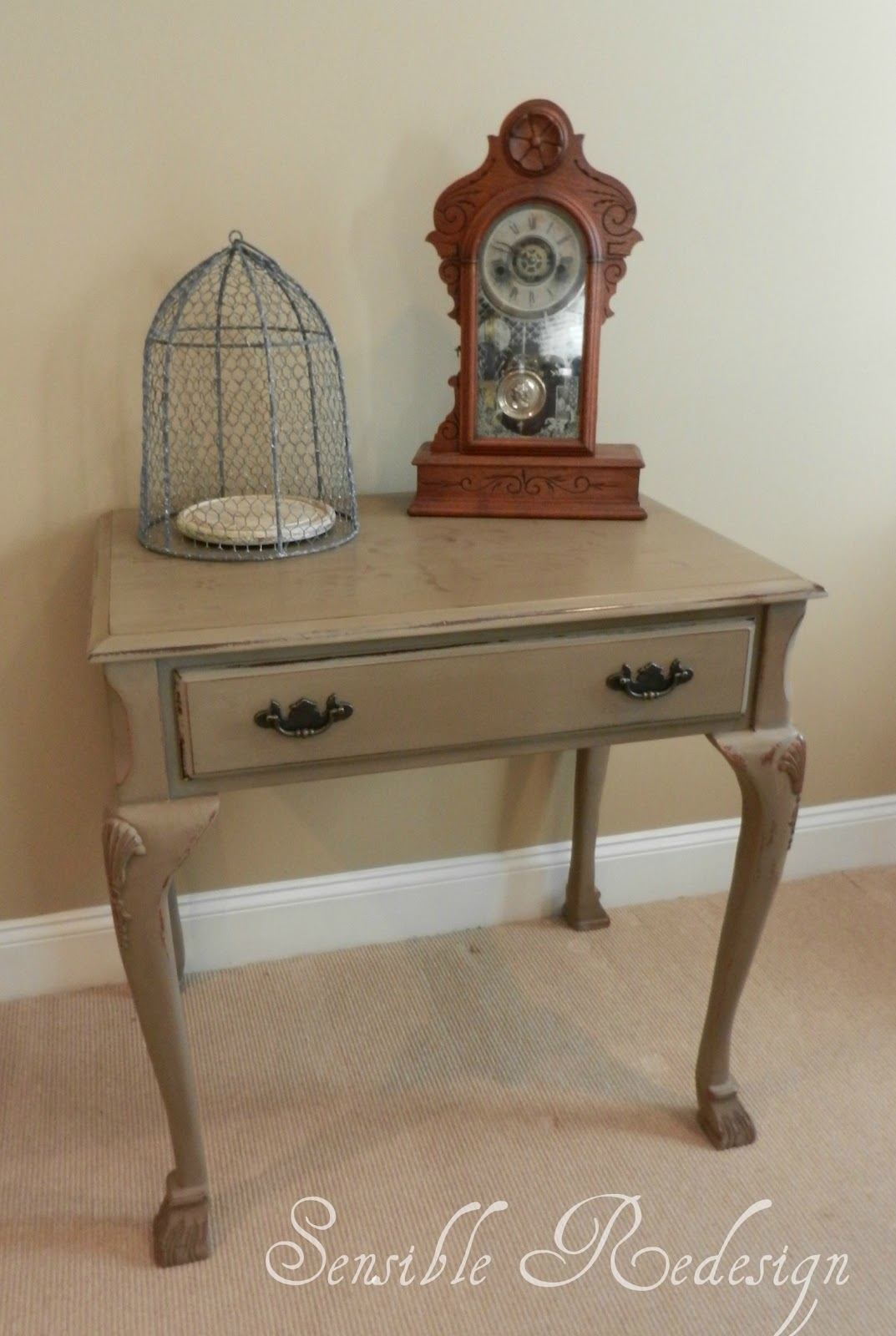 Sensible Redesign Small Foyer Table