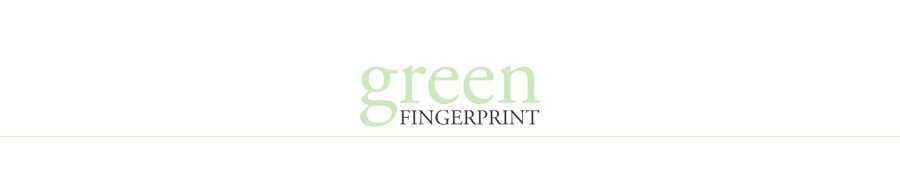 greenfingerprint | simple + modern design