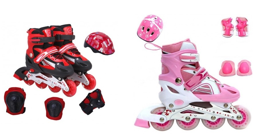 ROLLER BLADE KIDS (Helmet, hand / knee guard )