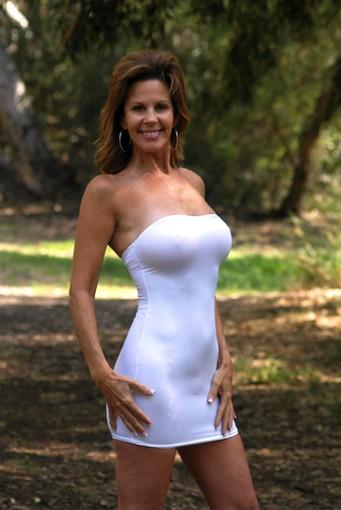 Mature in tight dresses 9