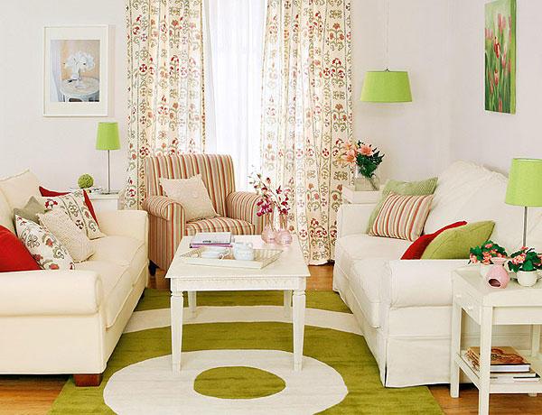 algumas salas pequenas e decoradas gostaria de ganhar luz em sua sala