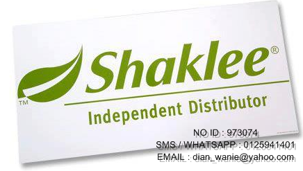 I,M YOUR SHAKLEE INDEPENDENT DISTRIBUTOR