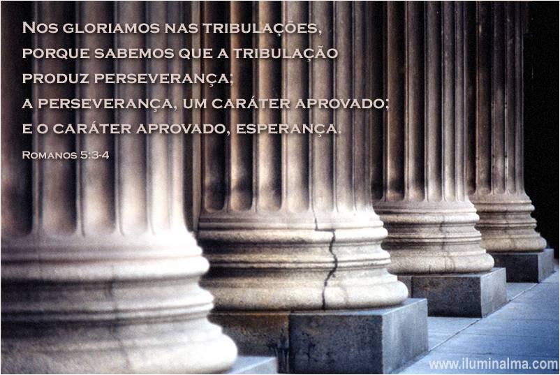 Romanos 5:3-4