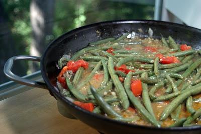 Green Bean Beef Skillet {Vegan} 5