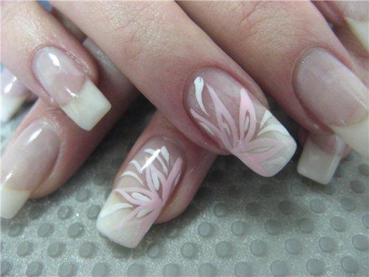 Маникюр в домашних условиях наращивание ногтей