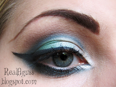Green Mist make-up photo 1