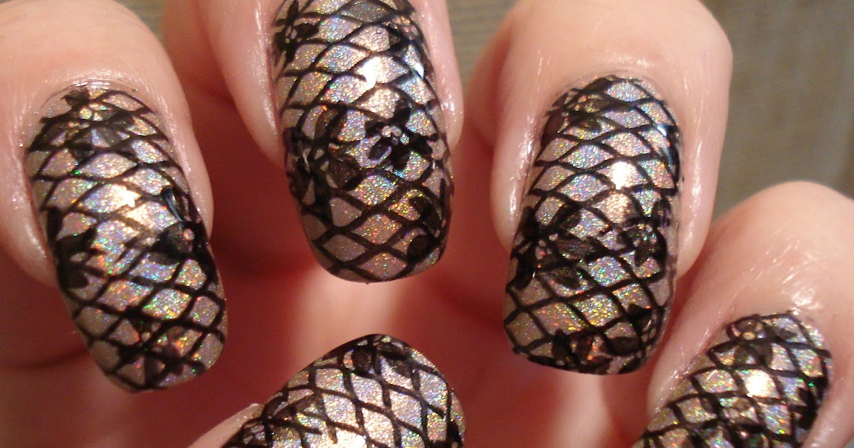 Black lace nails by Janee   Elegant nail art, Nails, Lace