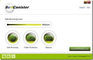 برنامج لحماية جهازك ولحمايتك من سرقة كلمات السر اثناء التصفح SurfCanister