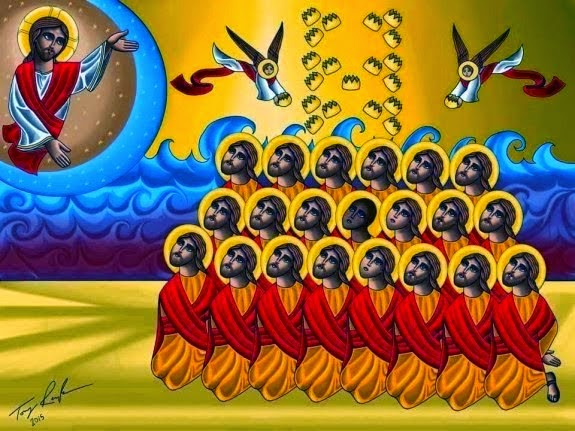 O Ye Coptic Martyrs, intercede for us!
